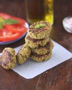 ... Quinoa Patties With Tzatziki Sauce | Tzatziki Sauce, Quinoa and Sauces