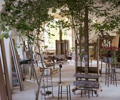 Claire Basler. Studio. Château de Beauvoir
