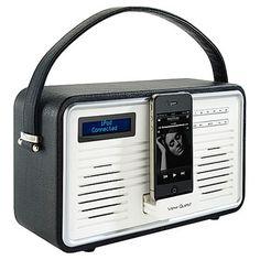 Dab radio and ipod dock