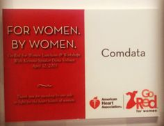 In honor of National Wear Red Day tomorrow, check out this #TBT photo of our support for women's heart health. #GoRed