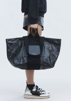 Alexander Wang   for Women Extra Large Tote Bags, Transparent Bag, Fashion Bags, Womens Fashion, Shopper Bag, Luxury Bags, Bag Accessories, Purses And Bags, Alexander Wang
