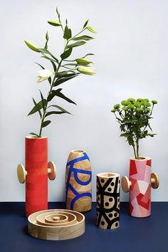 Flowers in Maria Jeglinksa 'Drawn Objects'