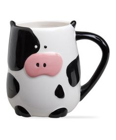 Another great find on #zulily! Cow Mug - Set of Two by tag #zulilyfinds