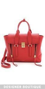 3.1 Phillip Lim + red handbag