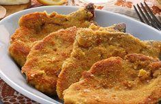 Escalope de veau milanaise WW, recette de savoureuse escalope pannée au four, facile et rapide à réaliser pour un repas léger accompagné d'une bonne salade.