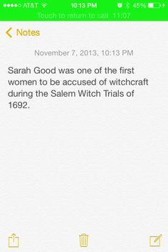 Facts about Sarah Goode