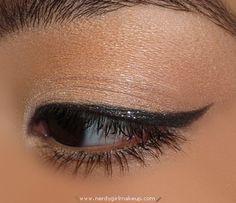 Sparkly Black Smokey Eye Look - black smokey eyeshadow 2012