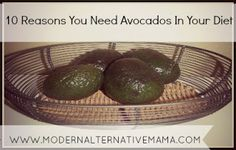 Ten reasons to eat avocados