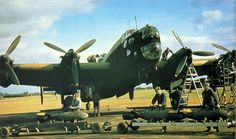 Handley Page Halifax bomber of 405 Squadron.