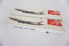 NIB Vintage China Airlines 747-400,CI,old color theme and flag,Taiwan,Taipei,TPE