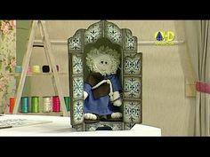 Sabor de Vida Artesanatos | Oratório em Azulejo Português por Adriana Moura - 29 de Junho de 2014 - YouTube