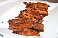 Almond Butter Coated Sweet Potato Fries | The Paleo Project