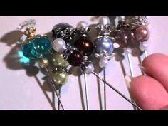 Vintage Victorian Stick Pins youtube