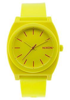 Neon yellow watch