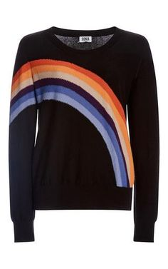 Rainbow sweater by SONIA BY SONIA RYKIEL for Preorder on Moda Operandi