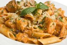 """Rachael Ray's """"You Won't Be Single For Long"""" Vodka Cream Pasta . This was featured on Oprah and Dr OZ shows it is suppose to be outstanding!"""
