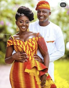Couples African Outfits, African Wear Dresses, Latest African Fashion Dresses, African Inspired Fashion, African Print Fashion, African Print Wedding Dress, African Wedding Attire, African Attire, African Traditional Dresses