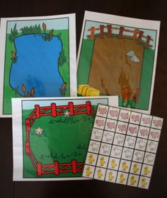 À chacun son lieu (Ferme) Farm Activities, Montessori Activities, French Class, How To Speak French, Edd, Paper Toys, Animals For Kids, Diy And Crafts, Preschool