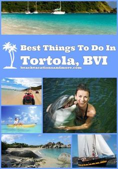 Tortola, British Virgin Islands - top things to do Cruise Vacation, Disney Cruise, Vacation Spots, Vacation Ideas, Cruise Destinations, Cruise Tips, Bvi Sailing, Sailing Trips, Uganda Travel