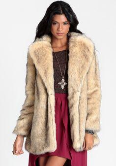 Cruella Faux Fur Coat By MINKPINK  threadsence  fashion Minkpink 8c6366f27