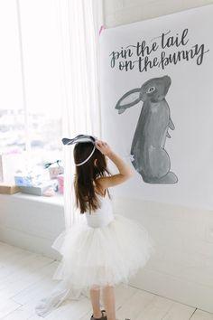 spring bunny party ideas
