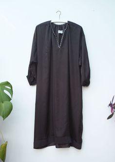 Image of NIGHT DRESS black