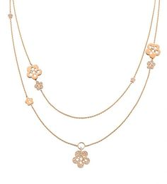 Boodles Blossom Diamond Long Necklace