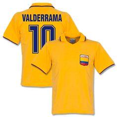 Retake Colombia Home Retro Shirt   Valderrama 10 Colombia Home Retro Shirt   Valderrama 10 http://www.comparestoreprices.co.uk/football-shirts/retake-colombia-home-retro-shirt- -valderrama-10.asp