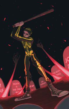 neon gravestones or? Tyler Joseph, Tyler And Josh, Studio Killers, Emo Bands, Music Bands, Clique Art, Twenty One Pilots Art, Fanart, The Wombats