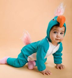 I seem to be inexplicably attracted to Baby Bird Halloween costumes... but awwwww!