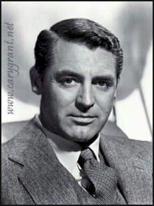 Cary Grant.  Suave and debonair, I'd be putty in his hands.  LOL