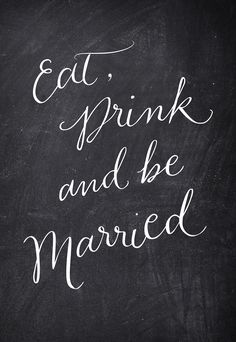 Free Wedding Printable via Happy Hands Project