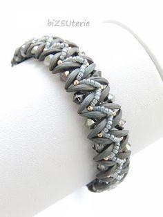 biZSUterie: Dragon bracelet - Crescent bead