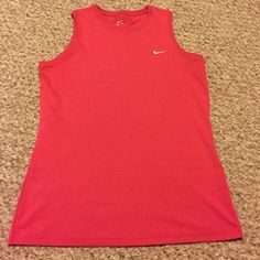 Nike Dri-Fit Tank - Size M Like new condition, dark pink Nike Dri-Fit tank. Nike Tops Tank Tops