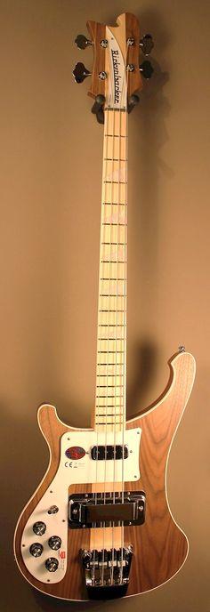 Rickenbacker 4003 LH Walnut Bass Guitar with Maple neck