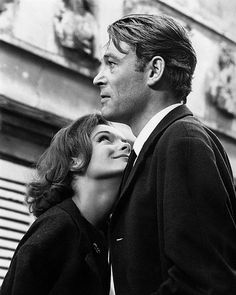 Peter O'Toole and Romy Schneider 1965