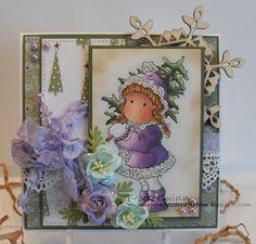My Padded Craft Room: Purple Christmas Tilda