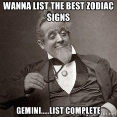 #Gemini List Complete