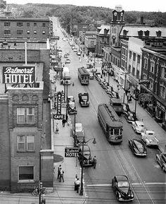1948 Downtown Sudbury, Ontariop, Canada