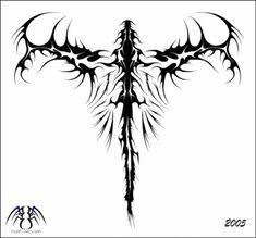 Dragon Tribal Tattoo Designs                                                                                                                                                                                 More