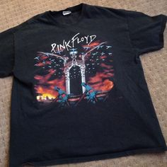 Pink Floyd Band Tee Excellent condition. Oversized band tee. Great addition to a band tee collection. Tops Tees - Short Sleeve