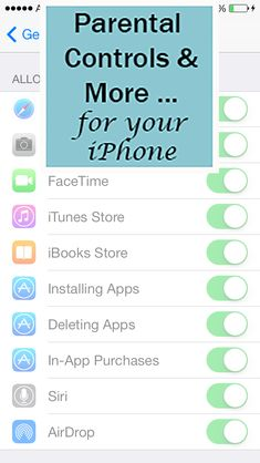 iPhone Parental Controls by Simplistically Sassy
