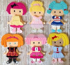 Lalaloopsy Dolls are here! They are the perfect toddler doll because of the 1 piece dress construction. Listing includes: 1 Bea Spells-a-Lot