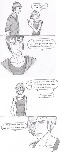 Tris and Tobias art