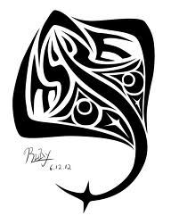 stingray tattoo