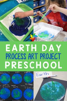 Looking for a fun Earth Day activity for Preschool students this April? This Earth Day process art project is great for learning all about our planet. Students work on their fine motor skills when they use an eyedropper and coffee filters to create the earth. Students also get to do some writing at the end. Students learn about water and land which is great for incorporating a little social studies. This is a great take home craft that students love to do each spring. Planets Preschool, Preschool Curriculum, Preschool Science, Preschool Classroom, Preschool Learning, Classroom Ideas, Teaching, Earth Day Activities, Motor Activities