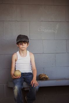 The Sandlot Mini Session model call is my favourite session that I've ever done. I don't think anything can really top this one. This little model was fantastic to work with and did everything he was asked.  Facebook.com/ClarksonPhotography  #ClarksonPhotography #Baseball #MiniSession #Mini #Session #Boy #Glove #Softball #Sandlot #Photography #Children #Kid #BlackEye