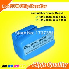 Compatible For Epson 3880 Chip Resetter #Affiliate
