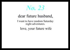 Love Notes To My Future Husband