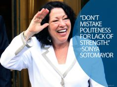 40 Ideas For Strong Women In History Quotes People Woman Quotes, Life Quotes, Lyric Quotes, Movie Quotes, Famous Hispanics, Sonia Sotomayor, History Quotes, American Women, American History